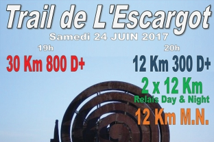 Trail nocturne de l'Escargot